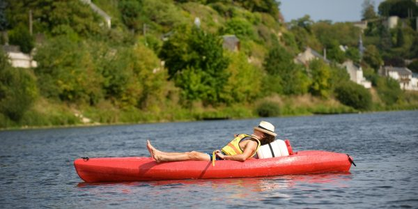 Canoé kayak sur le Cher