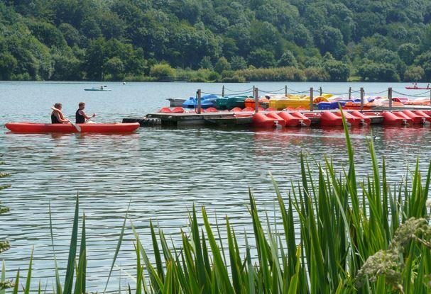 Camping et base de loisirs Lac de Malagué