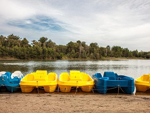 camping Lac de Malagué