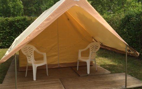 Tente treck camping de Savonnières