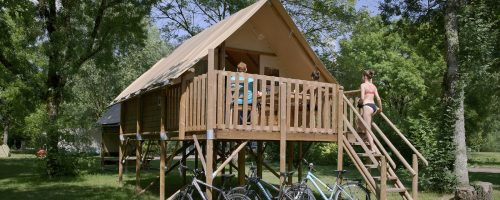 Tente Canadienne camping le Sabot