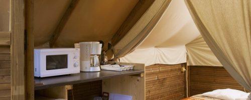 Camping Azay tente Canadienne