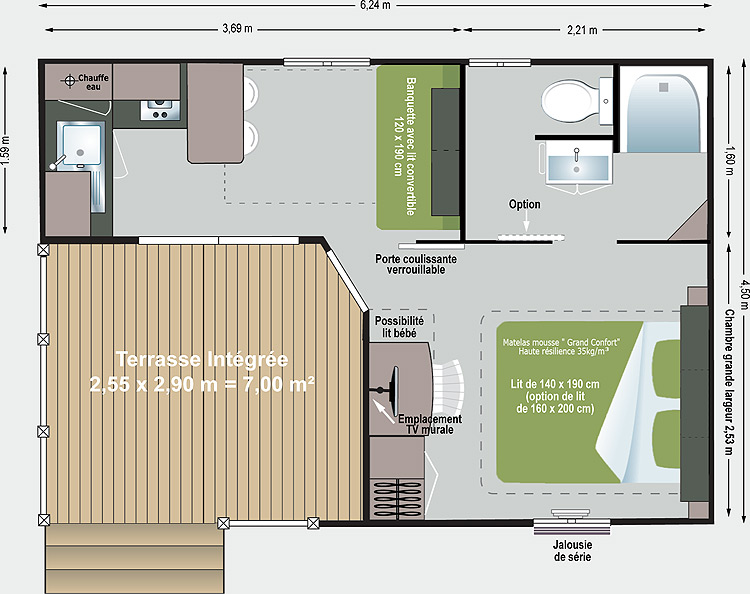 CAMP_mobil-home_toscane_plan 2 pax